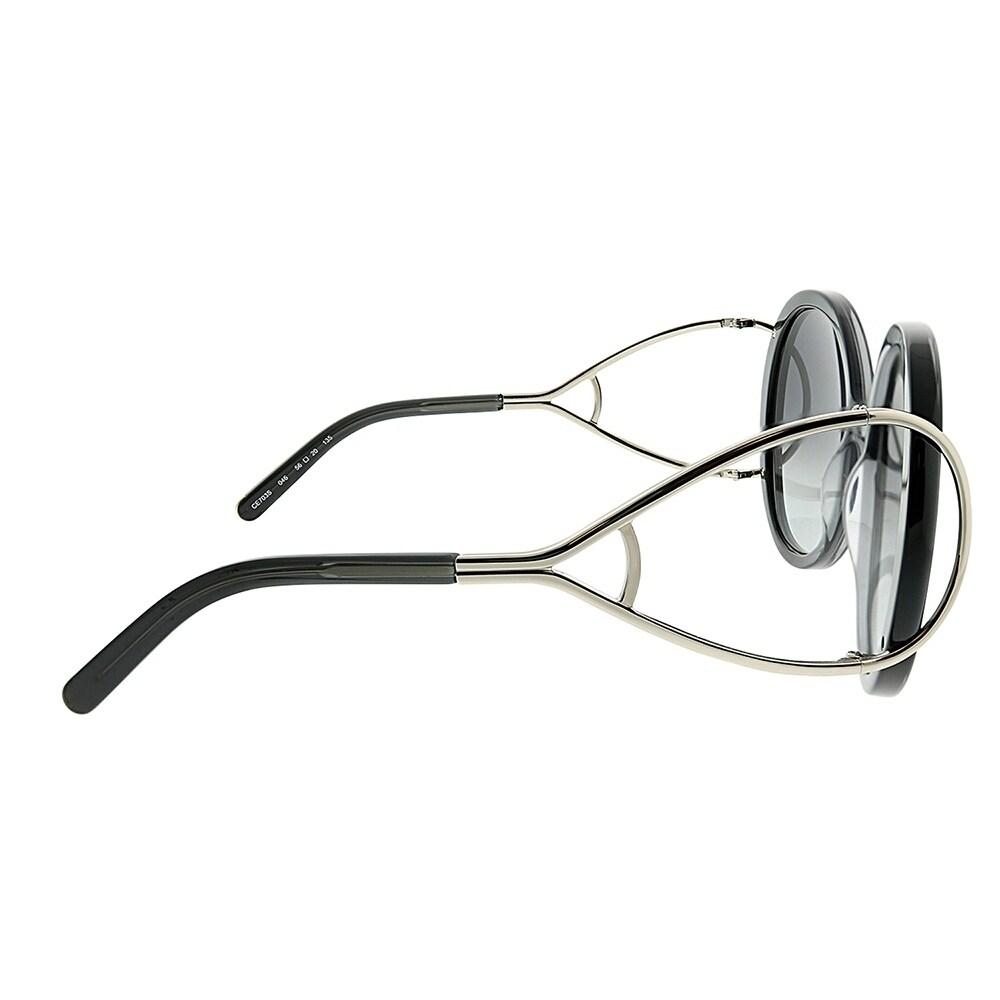 afa432666eaf Shop Chloe Round CE 703S Jackson 046 Women Grey Gradient Frame Grey  Gradient Lens Sunglasses - Free Shipping Today - Overstock - 23624941