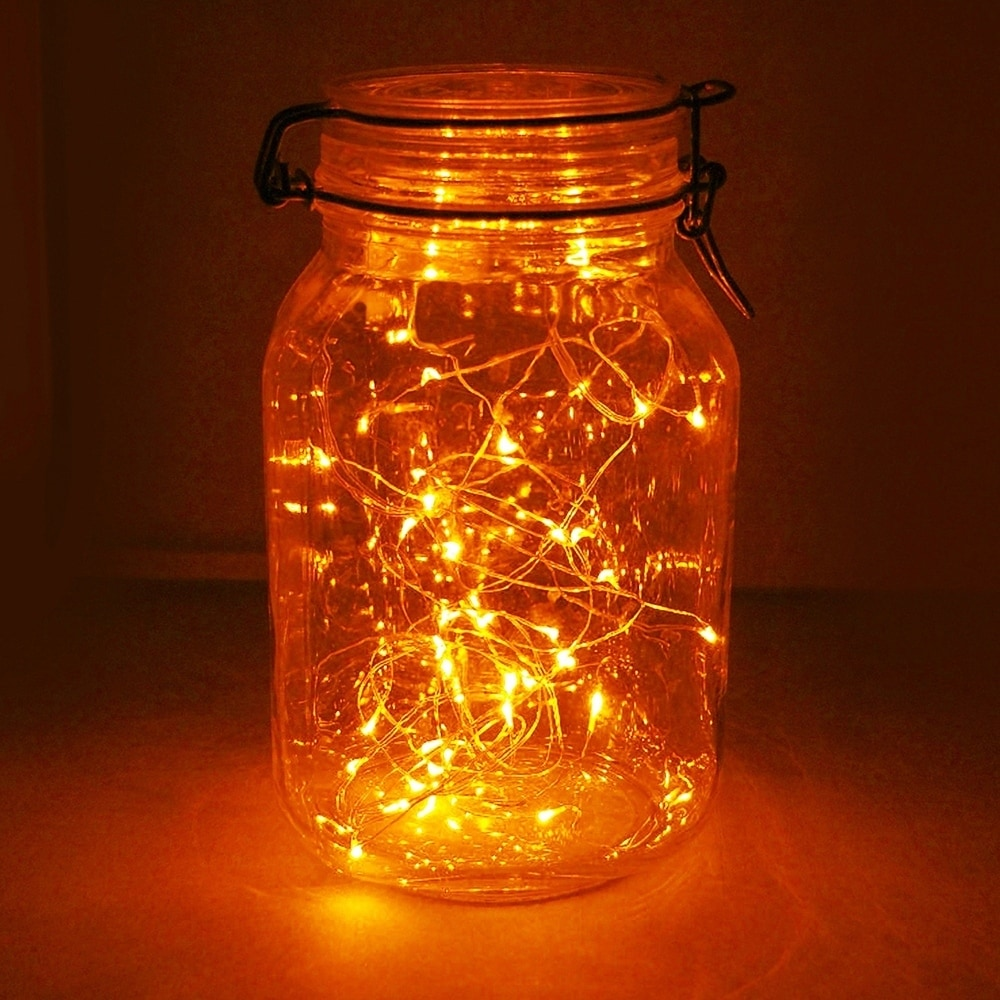 Orange Led String Lights With Timer Set Of 2 Free Shipping On Orders Over 45 24016531