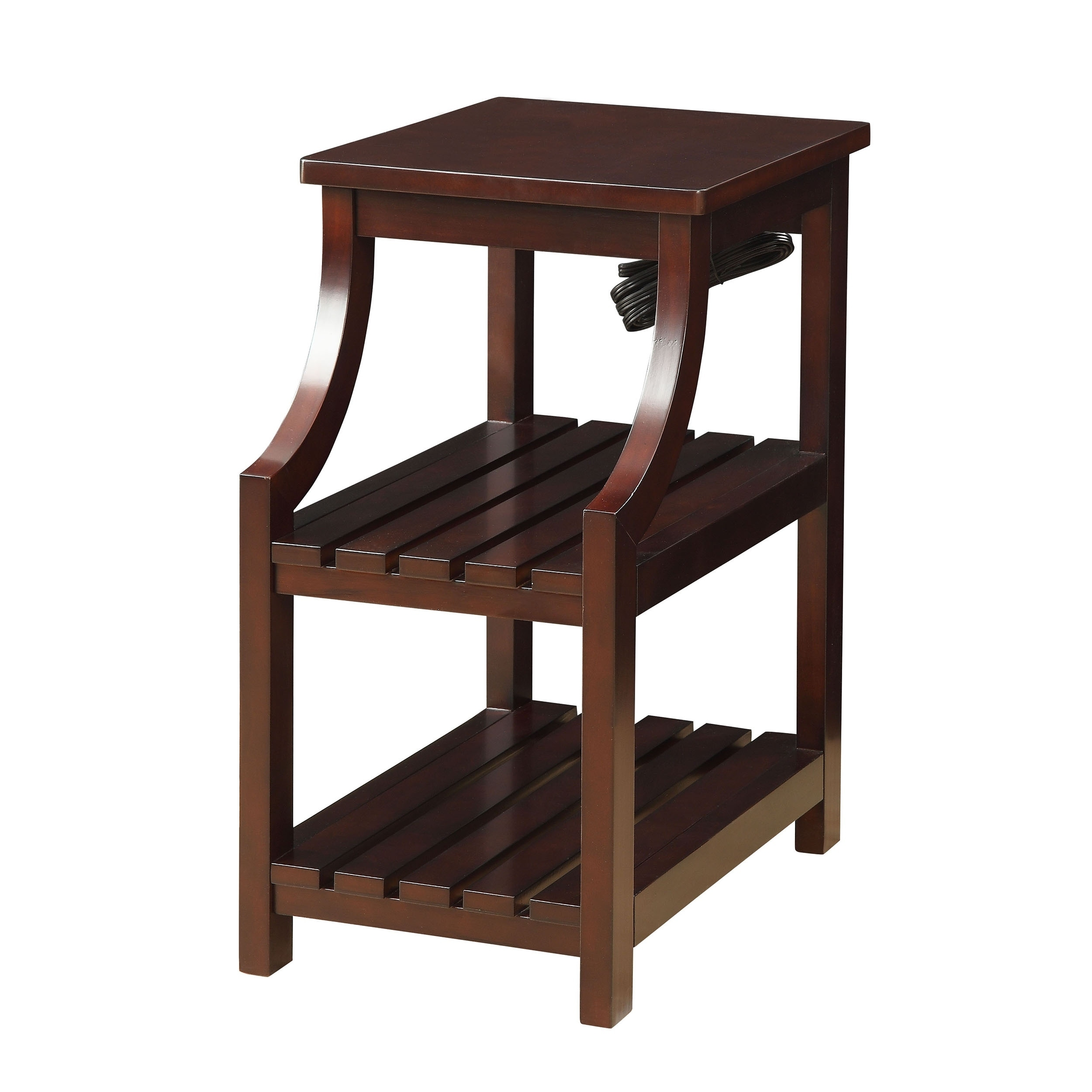Shop Modern Designs Havana Espresso Wooden Accent Side Table With