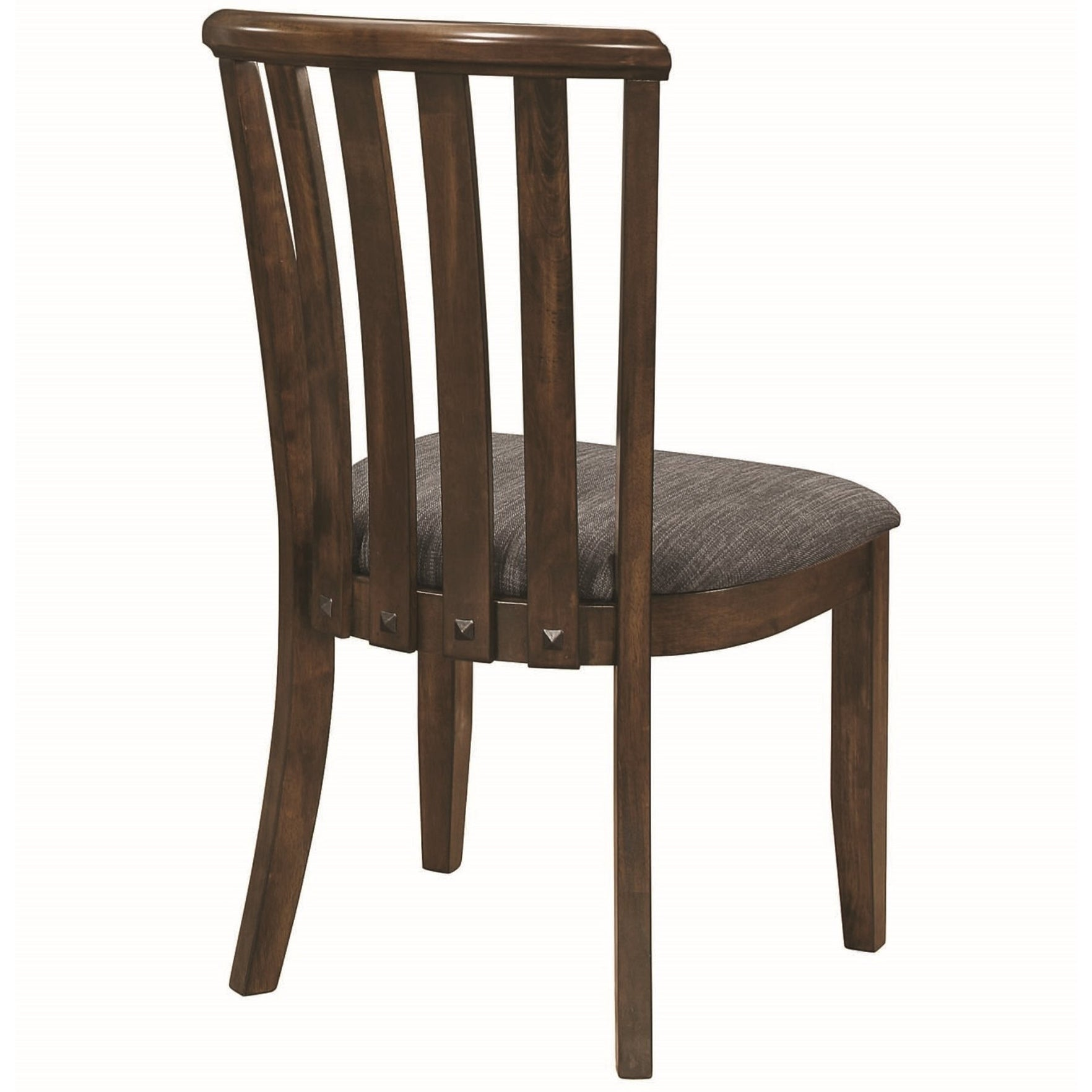 eedf178a0f68 Shop Mid Century Modern Sculpted Slat Back Design Dining Chairs (Set of 2)  - Free Shipping Today - Overstock.com - 24031378