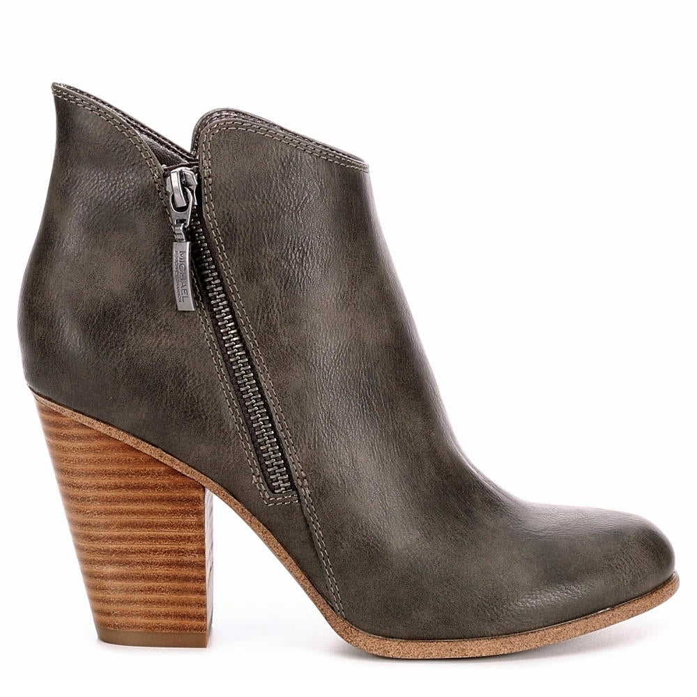 b1fababa2341e Michael By Michael Shannon Ginnie Side Zip Up Bootie Shoes
