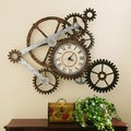 Harper Blvd Clock and Gears Wall Art