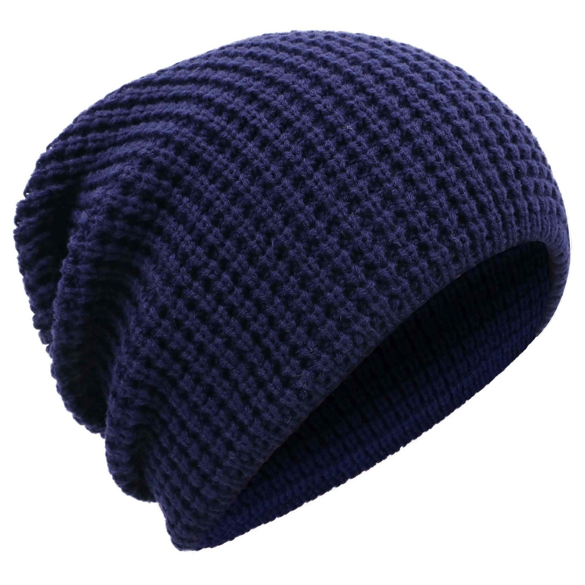 d6adbb50ac591 Men s Winter Thick Knit Slouchy Fit Outdoors Ski Beanie Hat. by Simplicity