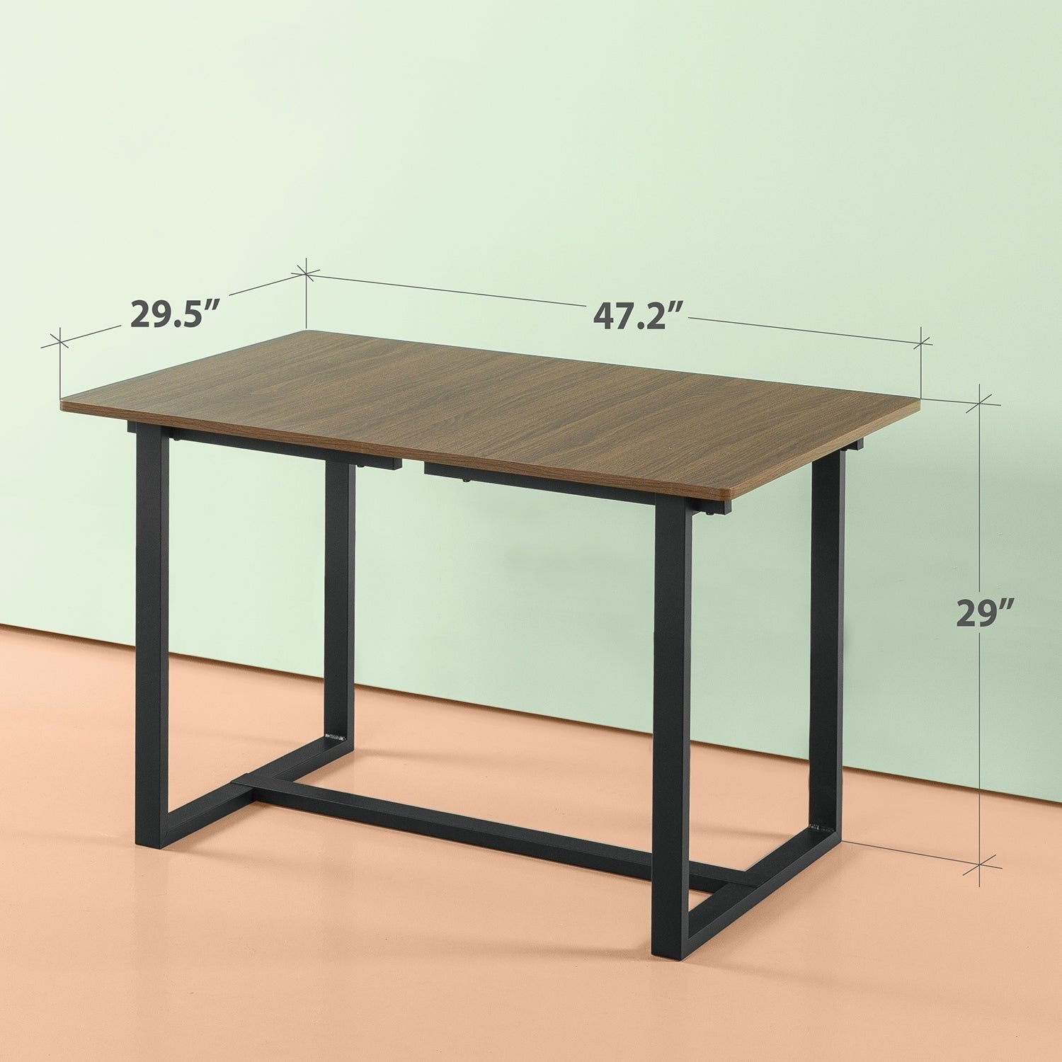 Shop Priage By Zinus Alto Rectangular Dining Table Table Only
