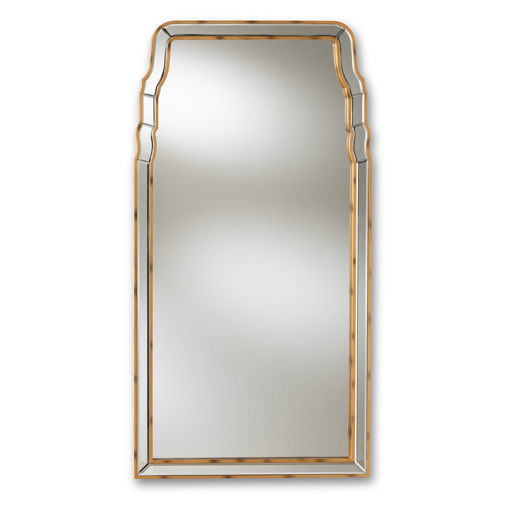Gentil Shop Queen Anne Style Antique Gold Wall Mirror By Baxton Studio   Antique  Gold   On Sale   Free Shipping Today   Overstock   24081371