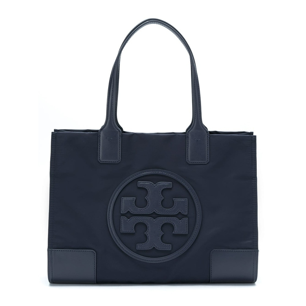 af9e0f3702d1 Shop Tory Burch Ella Tote Tory Navy - Free Shipping Today ...