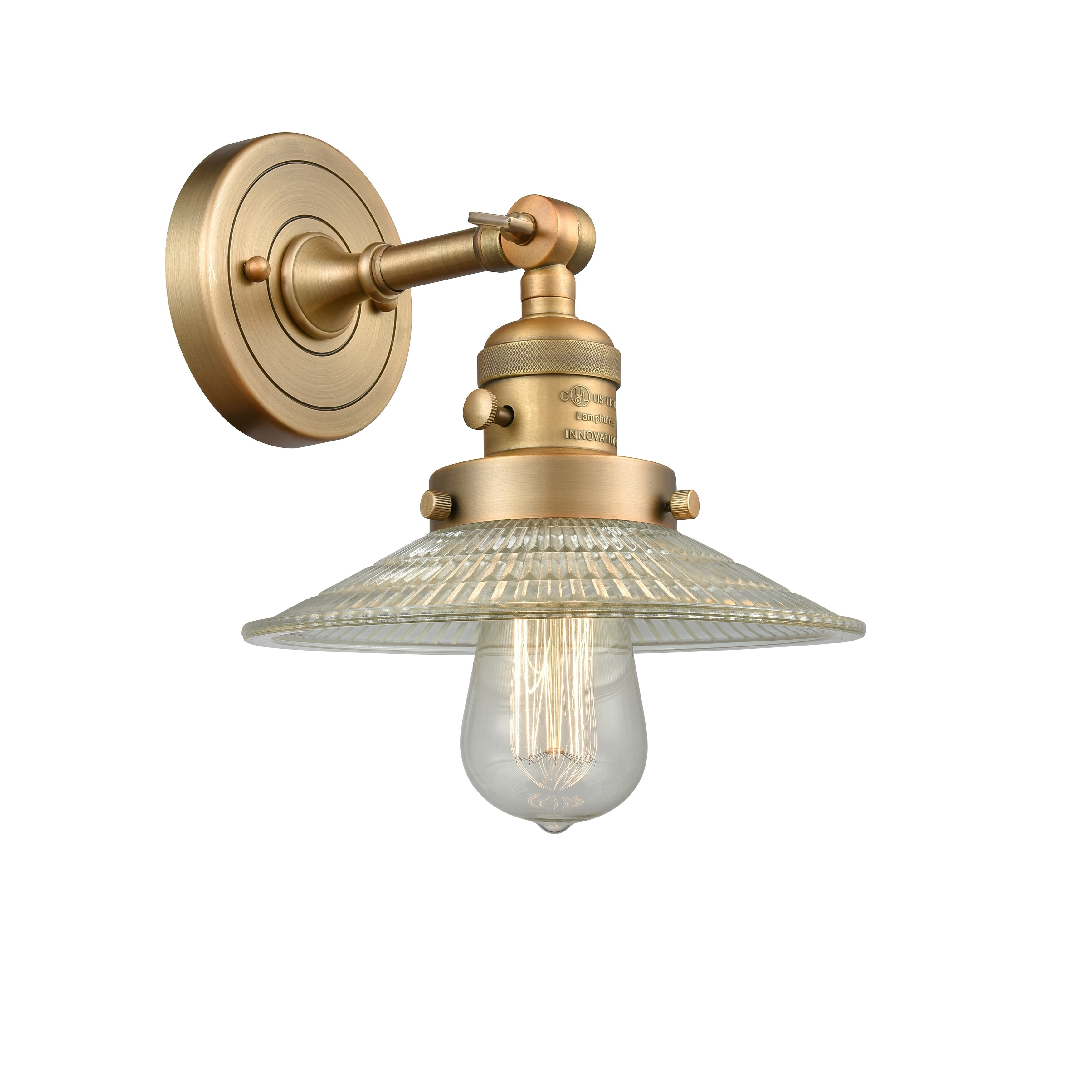Innovations lighting colton 1 light adjustable sconce with switch