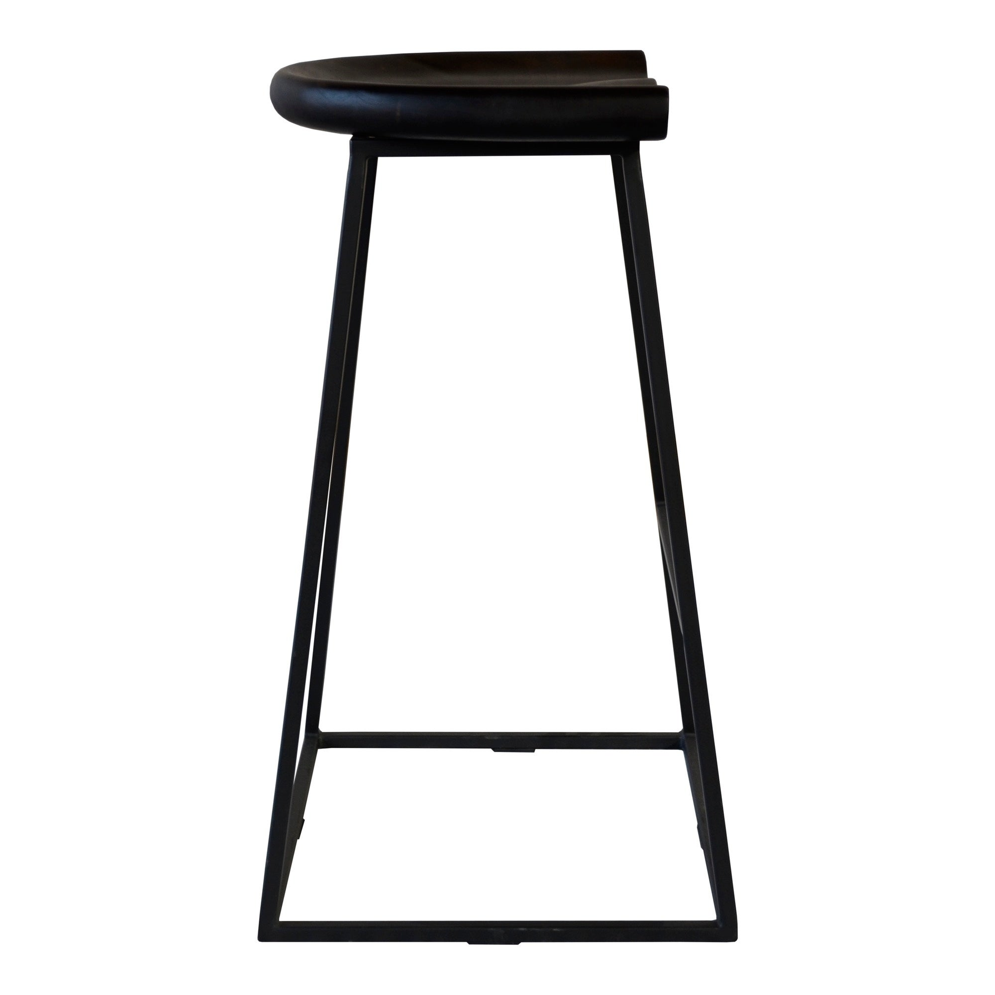 Shop Aurelle Home Solid Industrial Stools Set Of 2 Free Shipping