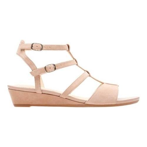 827d36538 Shop Women s Clarks Parram Spice Gladiator Sandal Beige Suede - Free  Shipping Today - Overstock - 20590164