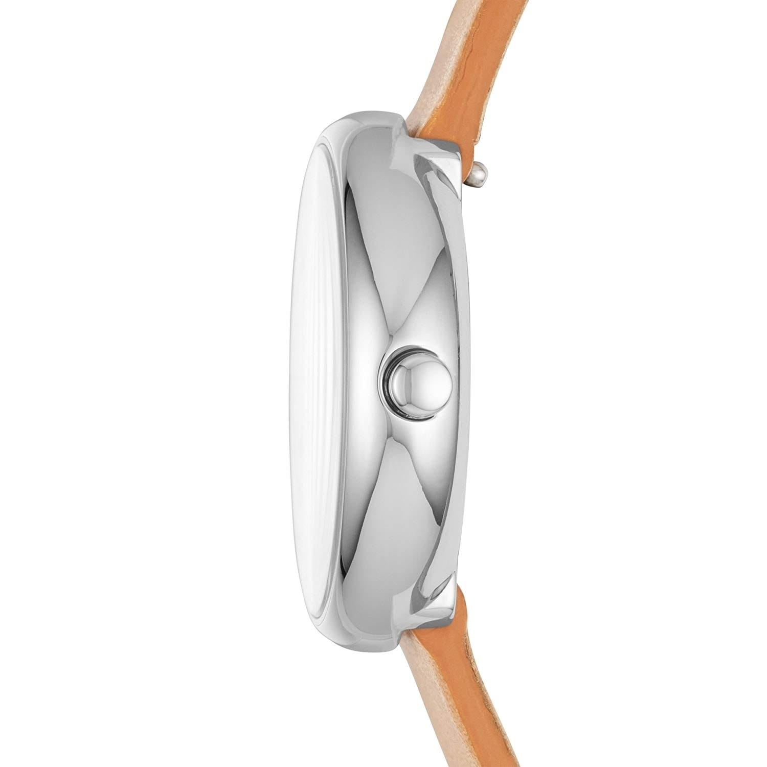 9eb8501fe7c64 Shop Skagen Women s SKW2594 Signatur White Dial Tan Leather Watch - Free  Shipping Today - Overstock.com - 24216365