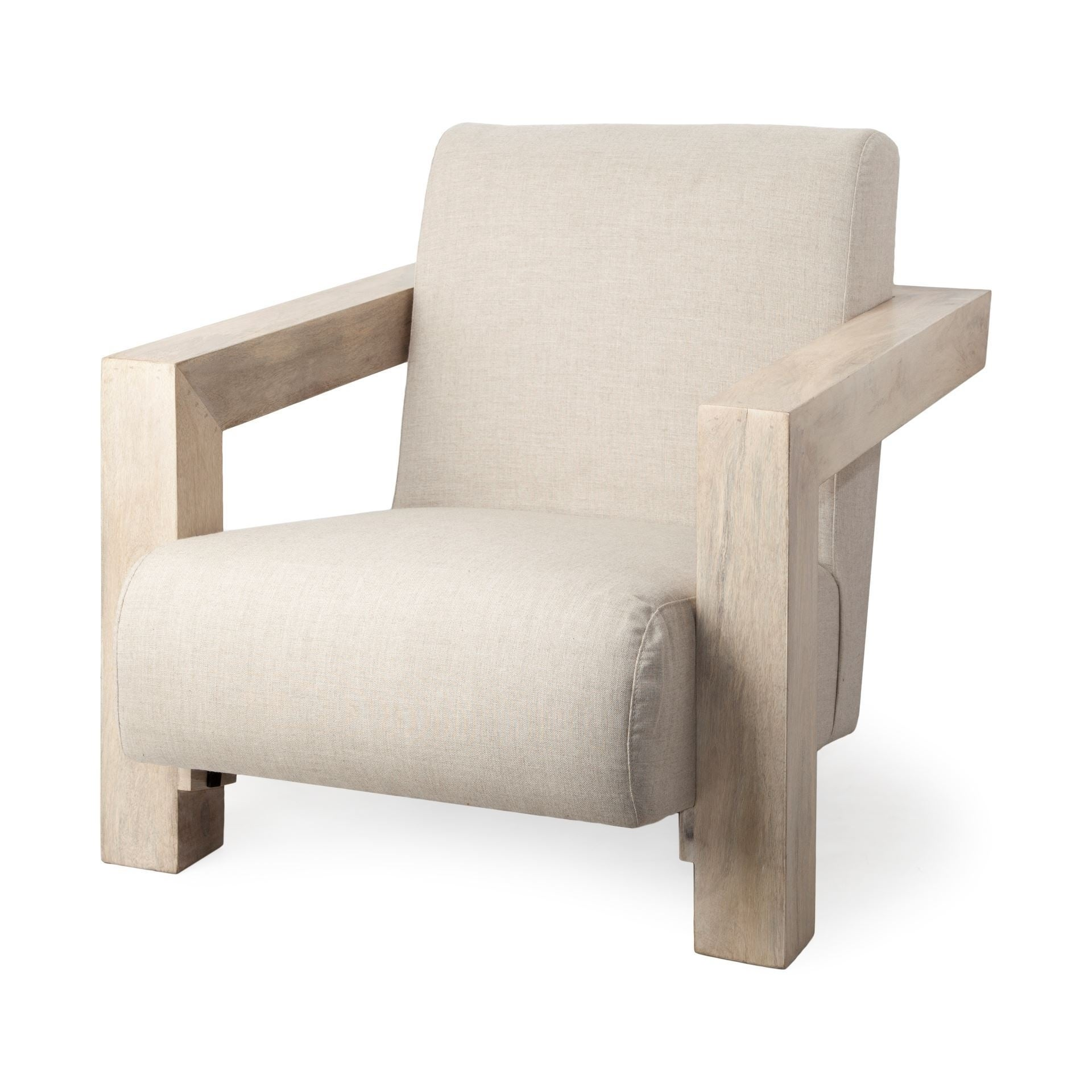 Mercana sovereign hardwood linen chair