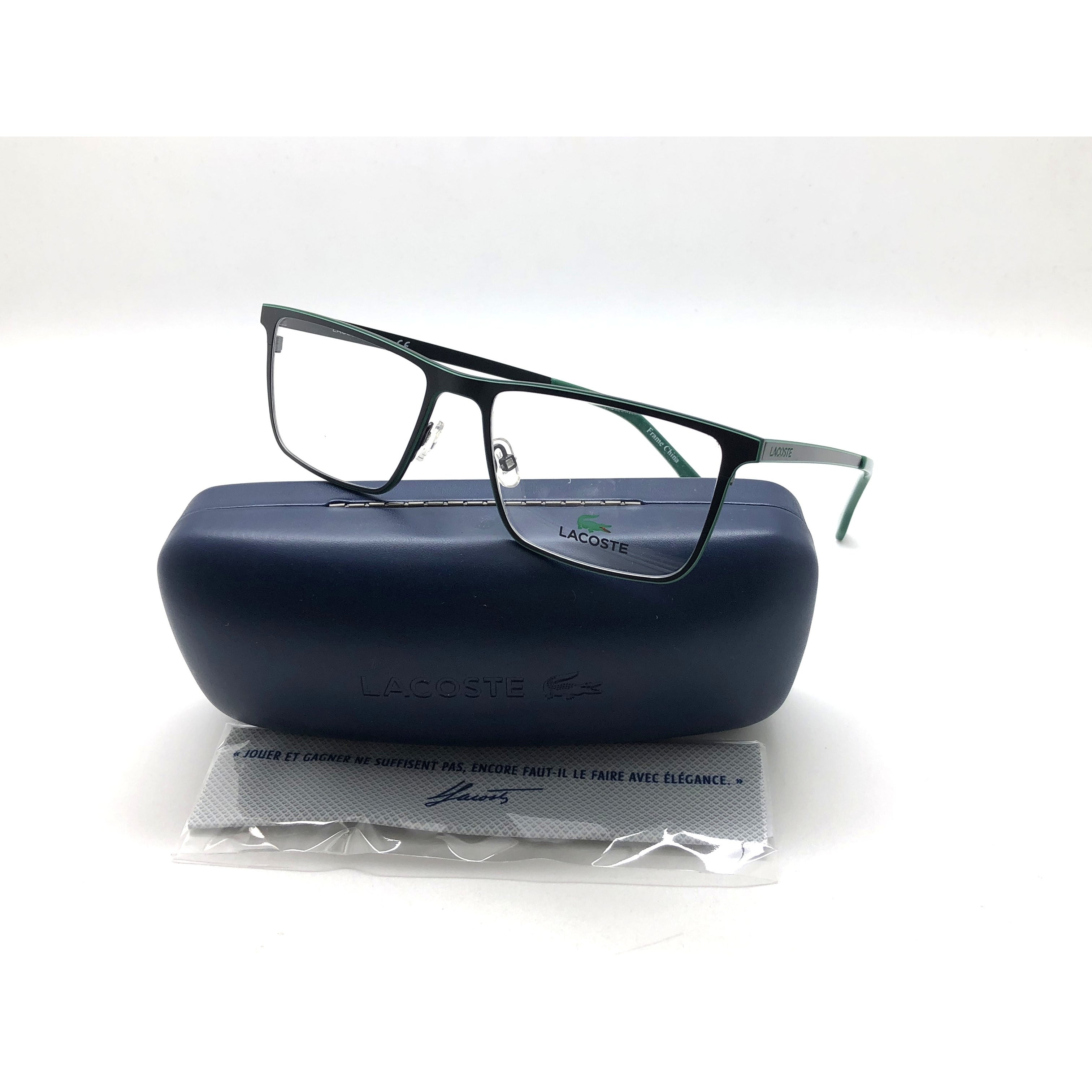d537a641674e Shop New LACOSTE Eyeglasses Frame L2232 001 RX Matte Black 54-17-145 Unisex  Metal - Free Shipping Today - Overstock - 24250488