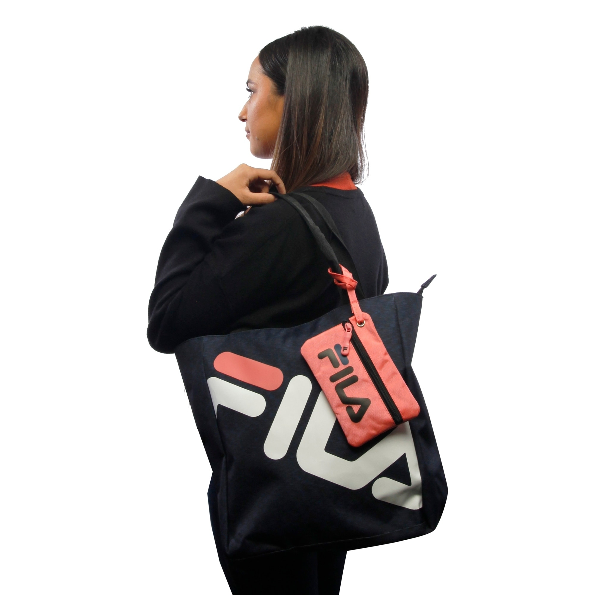 7fc9cd9807ff Shop Fila Margaret 13-in Tote - Free Shipping On Orders Over  45 -  Overstock - 24251882