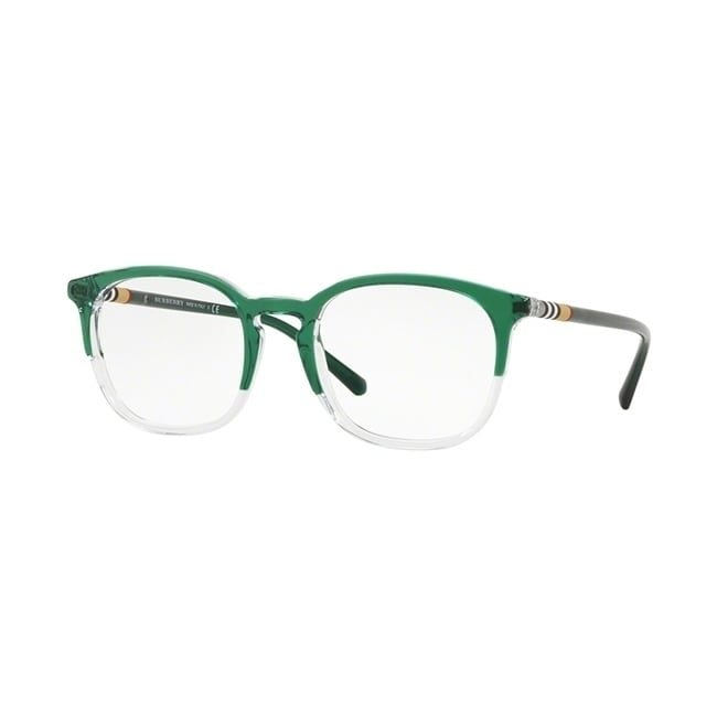 b11998bcf16 Shop Burberry Square BE2272 Mens TOP GREEN ON CRYSTAL Frame Demo Lens  Eyeglasses - Free Shipping Today - Overstock - 24256803