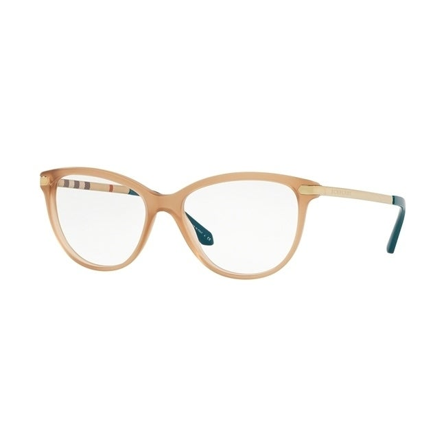 9166303a31c9 Shop Burberry Square BE2280 WoMens MATTE BROWN Frame Demo Lens Eyeglasses -  Free Shipping Today - Overstock - 24257193