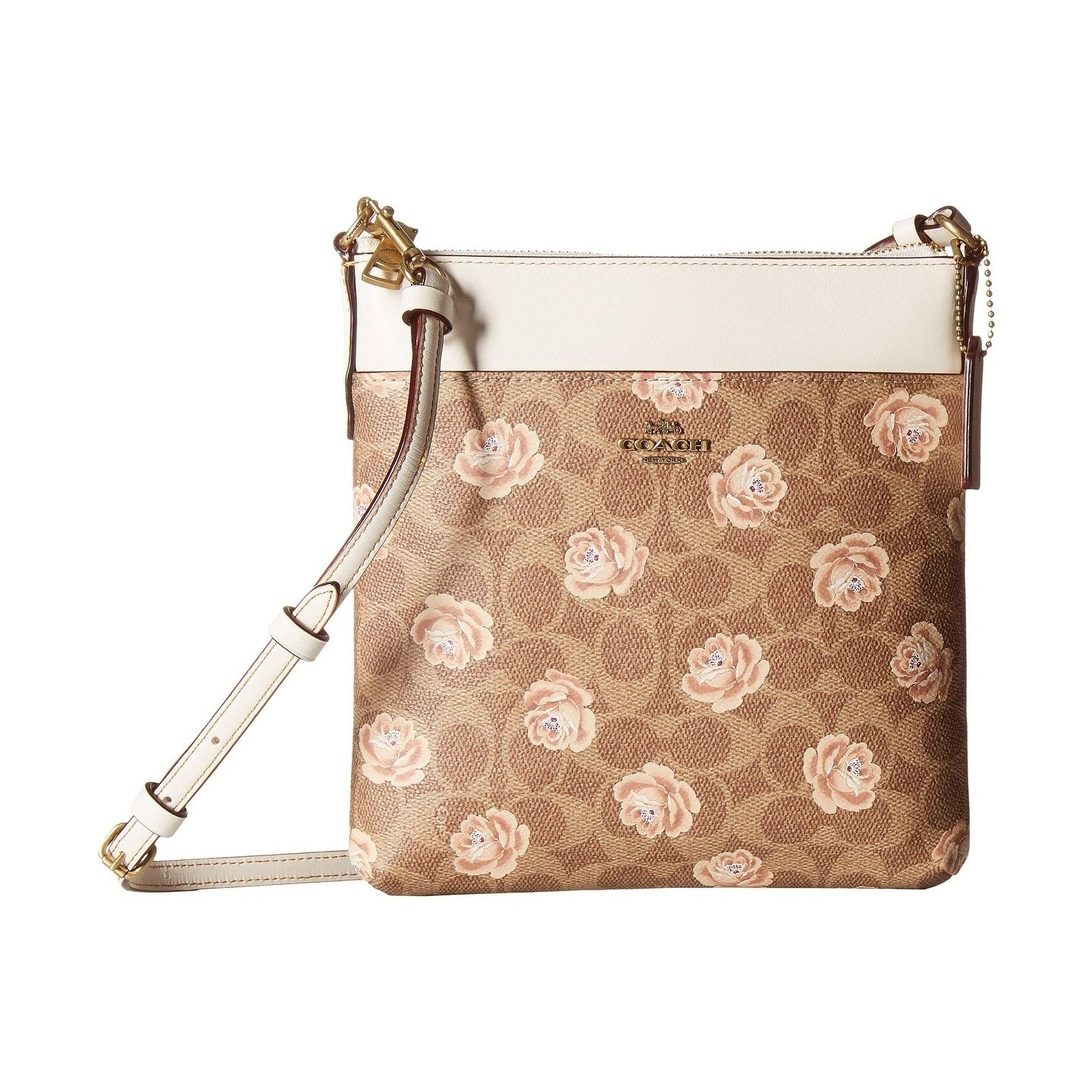 Shop COACH Messenger Crossbody in Coated Canvas Signature with Print - Free  Shipping Today - Overstock.com - 24258275