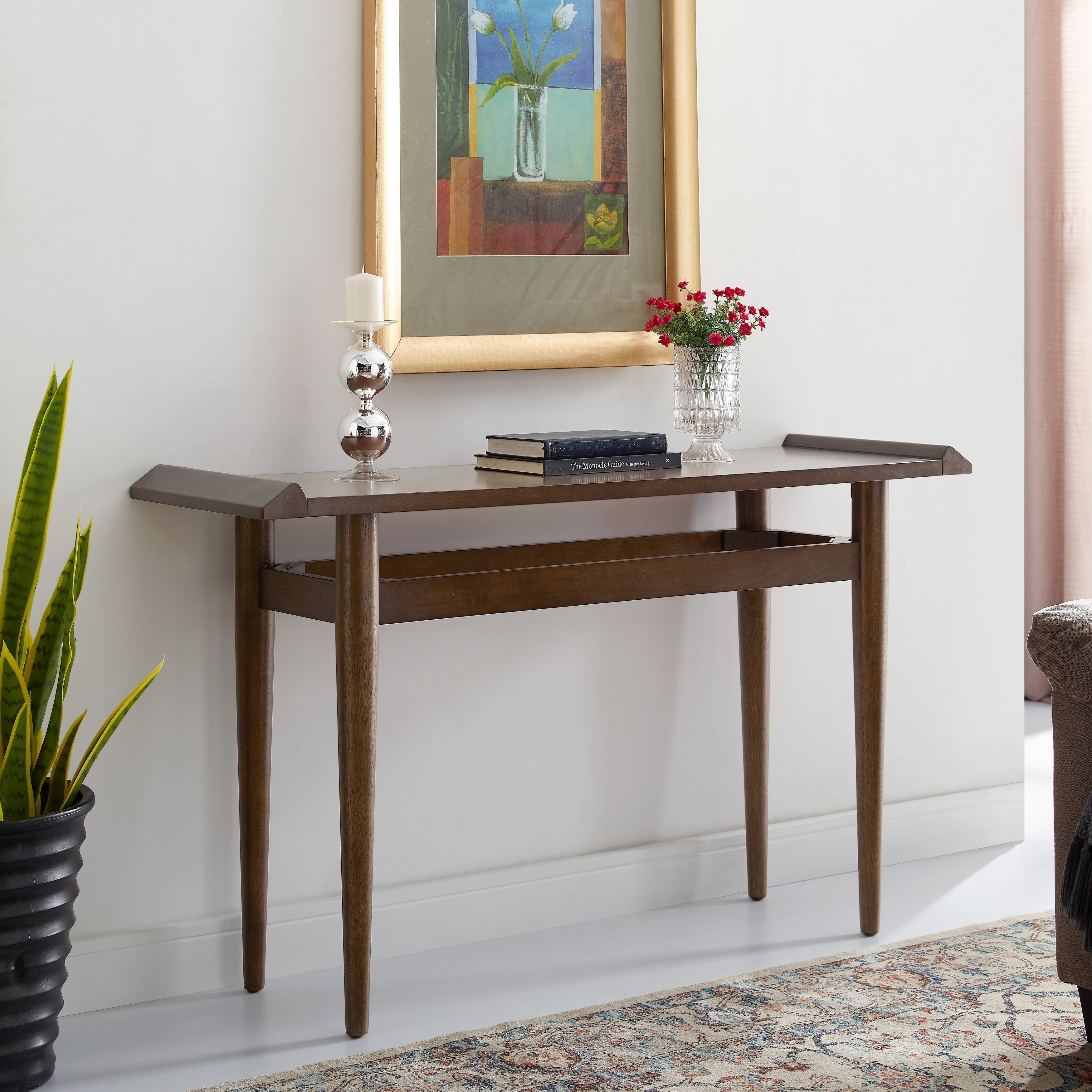 Shop Bedrick Midcentury Modern Console Table - Free Shipping Today ...