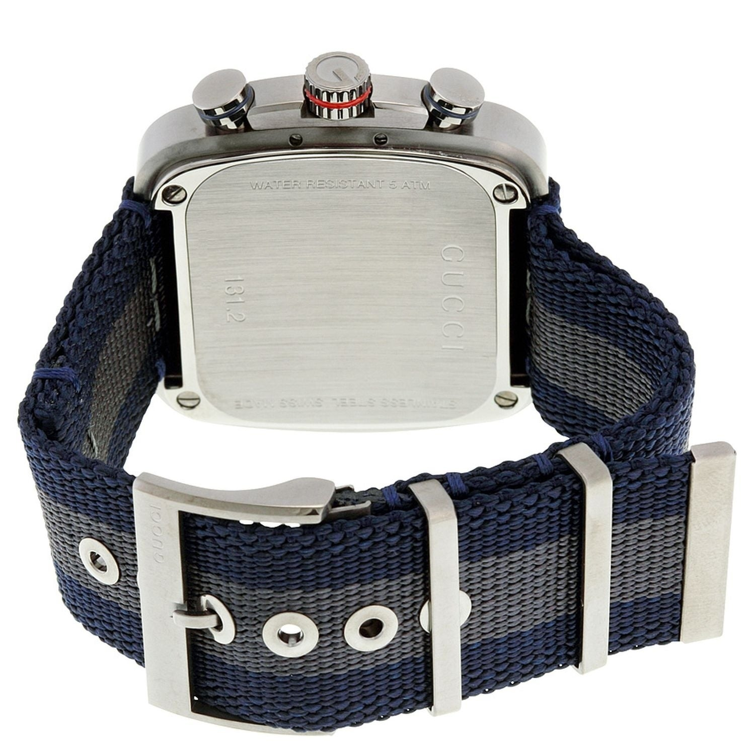 c48be2cd086 Shop Gucci YA131203 Men s G-Coupe Blue Quartz Watch - Free Shipping Today -  Overstock - 24265631