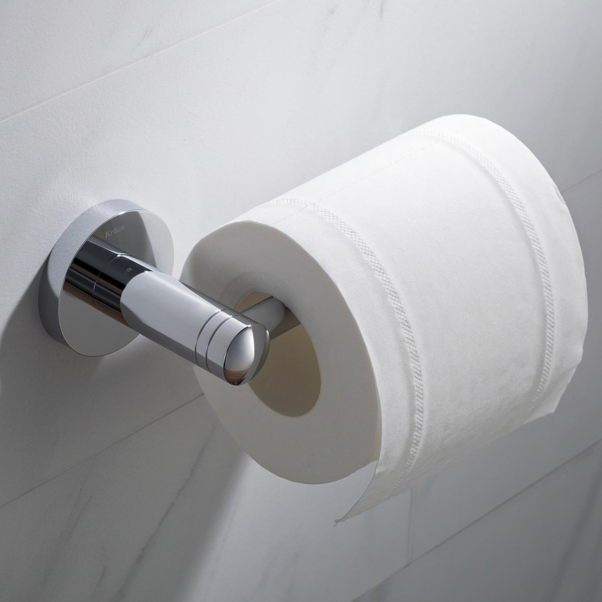 Kraus Elie Kea 18829 Bathroom Toilet Paper Holder In Chrome Brushed Nickel Matte Black Finish Free Shipping On Orders Over 45
