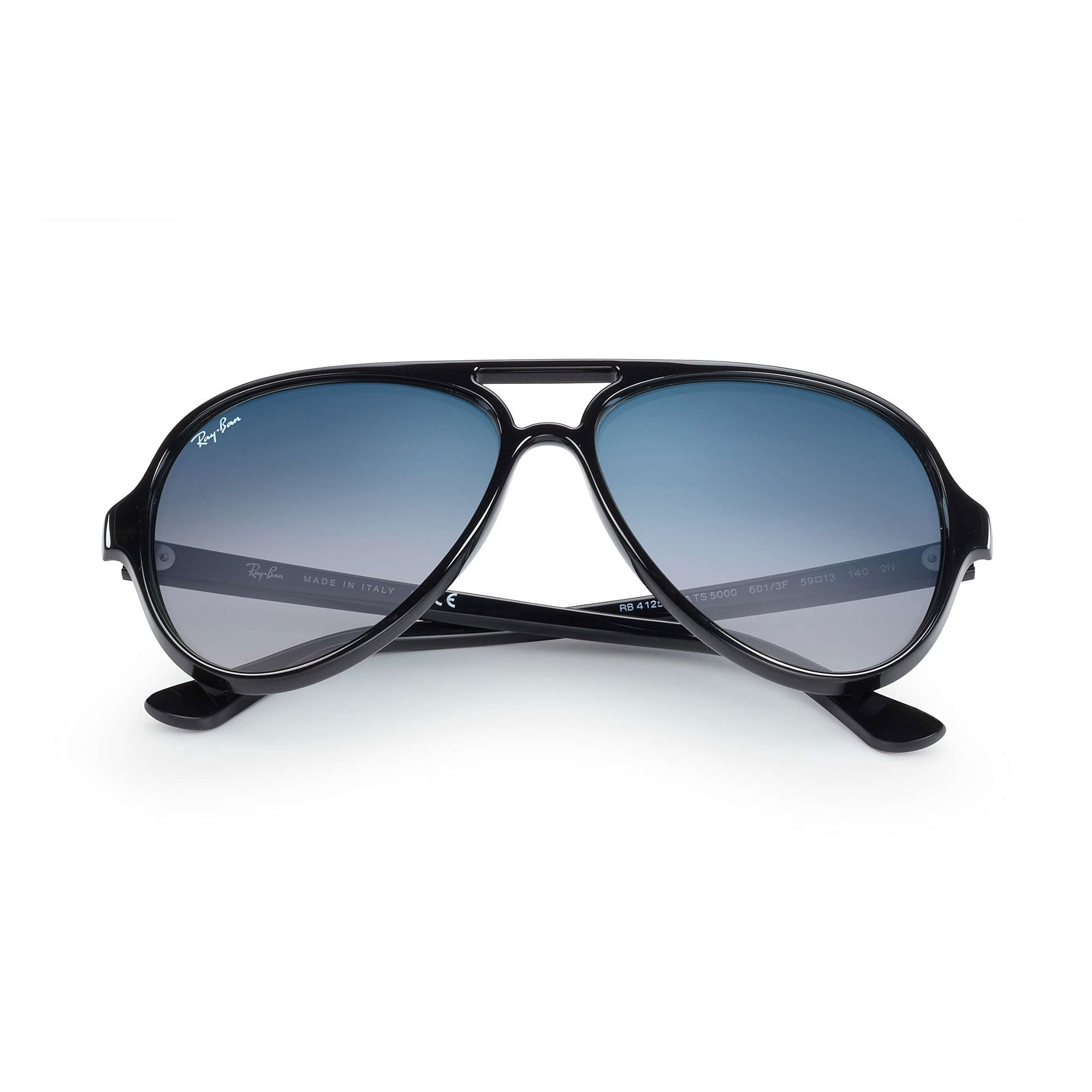 Shop Ray-Ban RB4125 Cats 5000 Classic Sunglasses 59mm - Free Shipping Today  - Overstock.com - 24301407 f01d21b07a8c