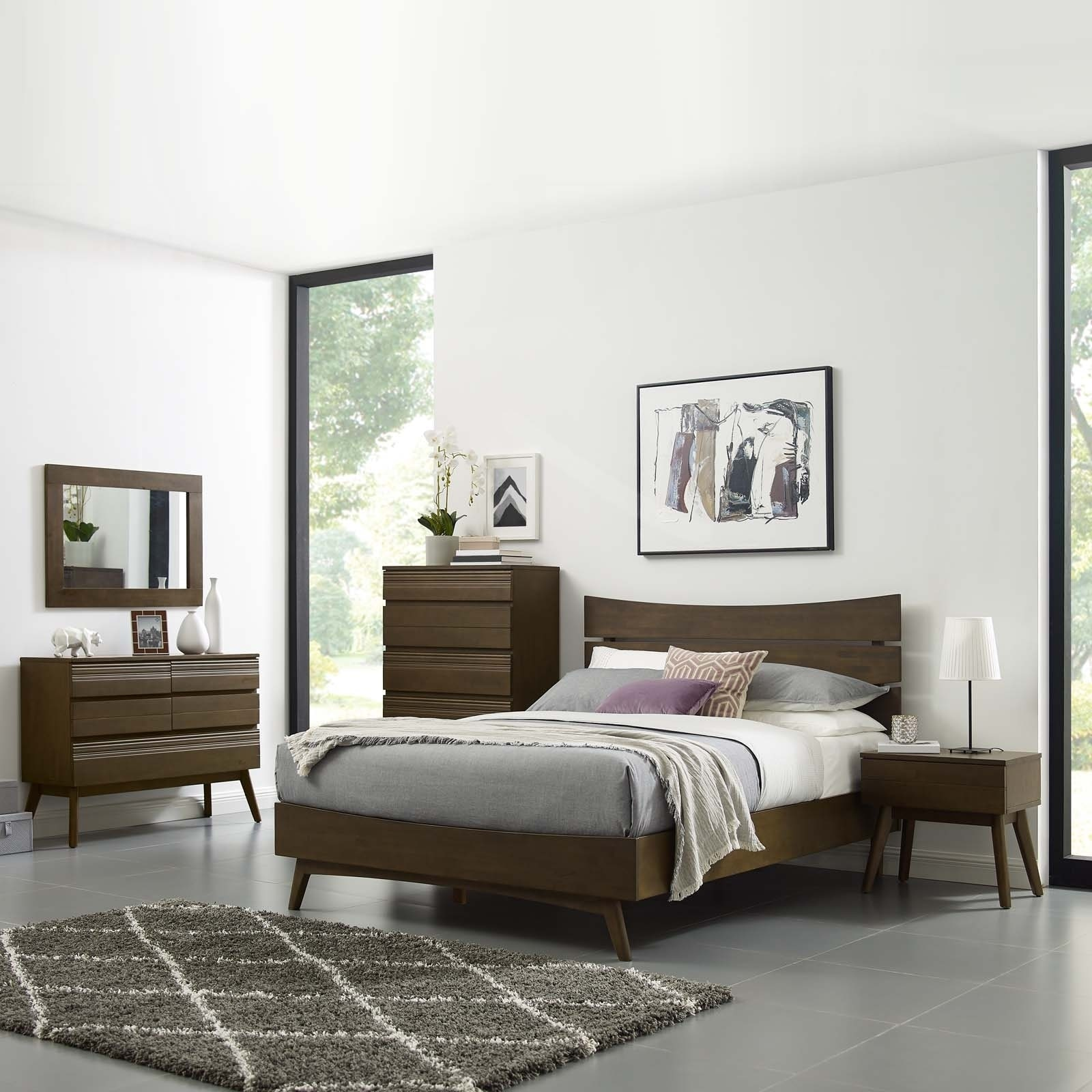 Shop Everly 5 Piece Queen Bedroom Set - Free Shipping Today ...