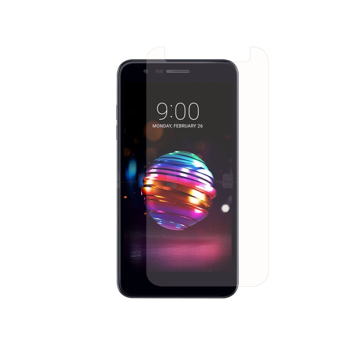 INSTEN 0 33mm Clear Tempered Glass Screen Protector for LG K10 (2018)/ K30  (X410)/ Premier Pro LTE