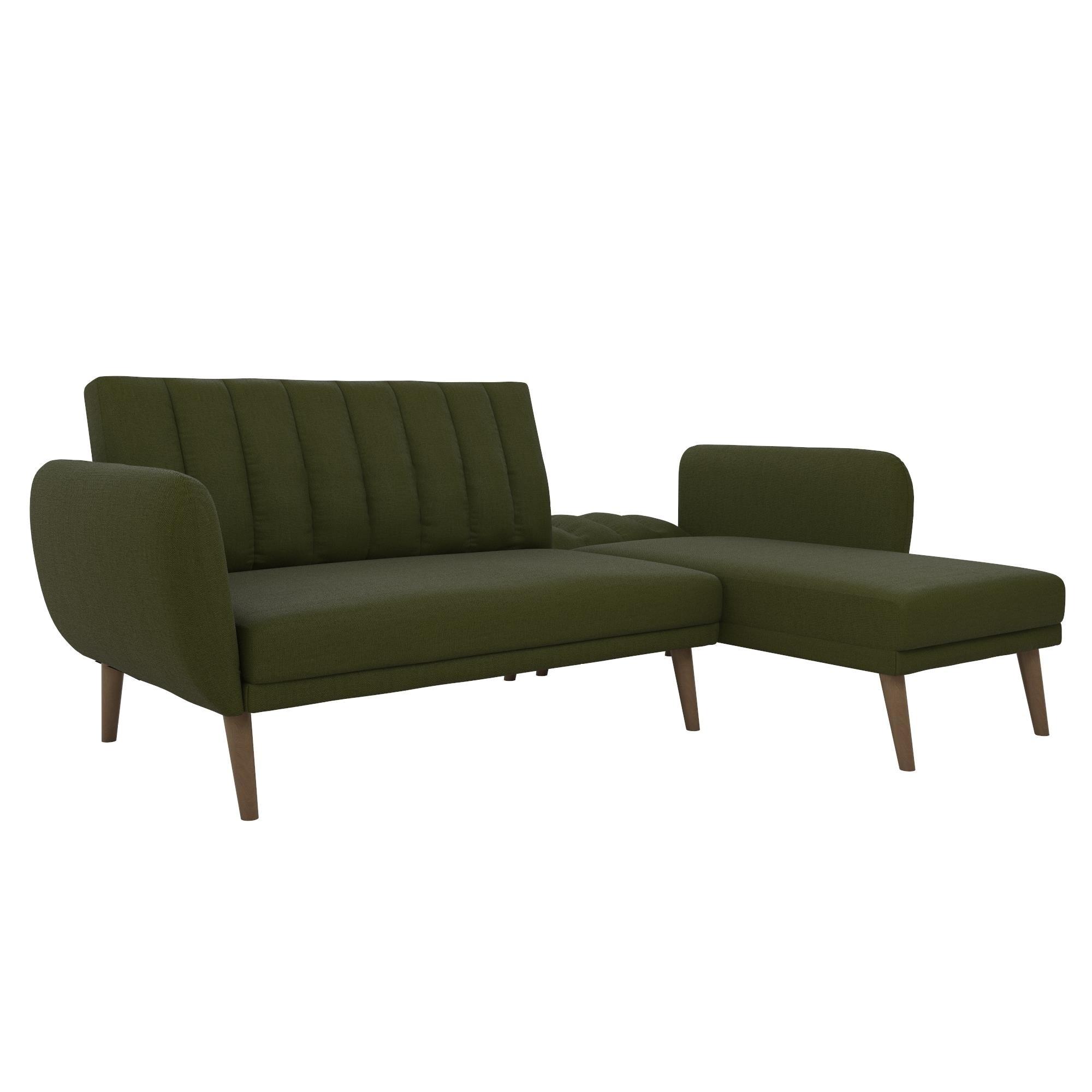 Novogratz Brittany Sectional Futon Sofa Free Shipping Today Com 24336802