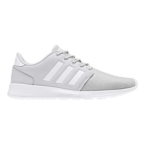 Le scarpe da ginnastica adidas neo cloudfoam qt racer grigia f17 / ftwr