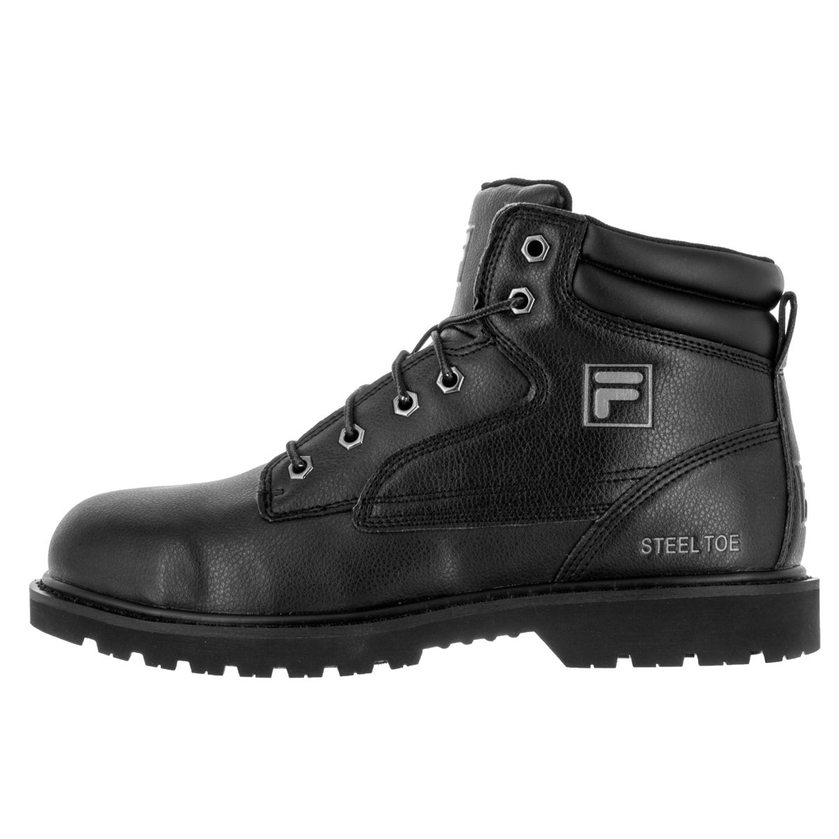 da1eca65 Fila Men's Landing Steel Black Boot