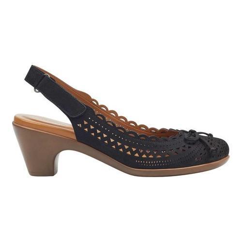0d3a5737d75 Shop Women s Easy Spirit Chatt Slingback Black - On Sale - Free Shipping  Today - Overstock.com - 20932785