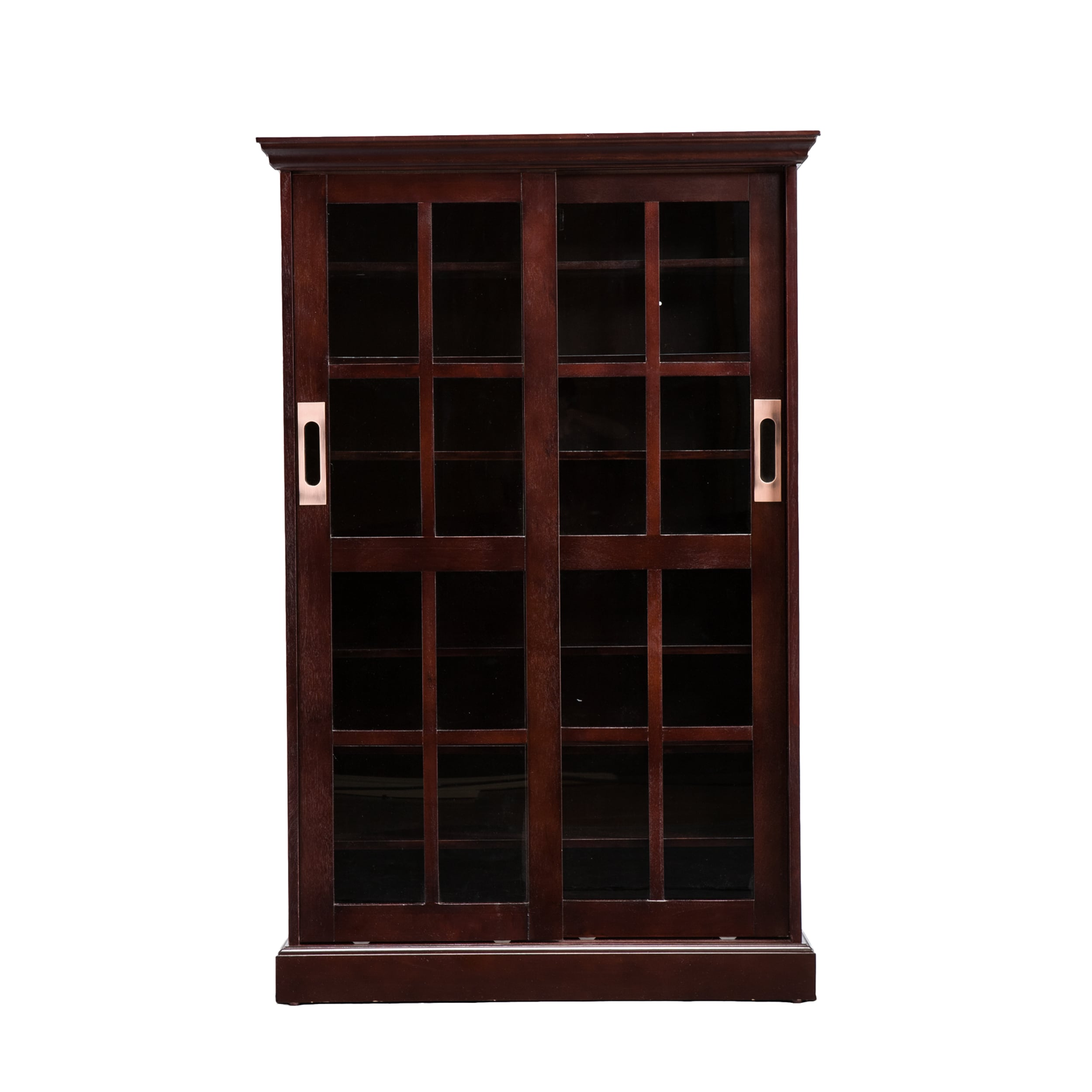 doors lane today bookcase navy home glass bookcases with product garden free shipping sliding aaron ameriwood overstock