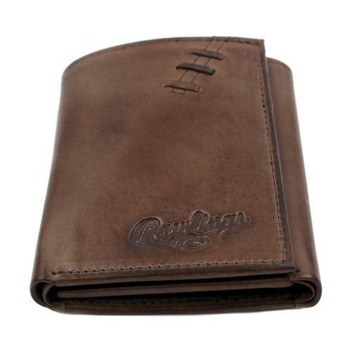 Shop Men s Rawlings Legacy Trifold Wallet Brown - Free Shipping ... 366ce7db30d73