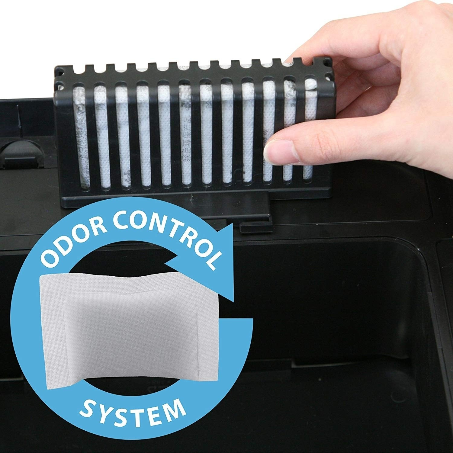 Shop iTouchless Automatic Sensor Sliding-lid Steel Trash Can, 14 ...