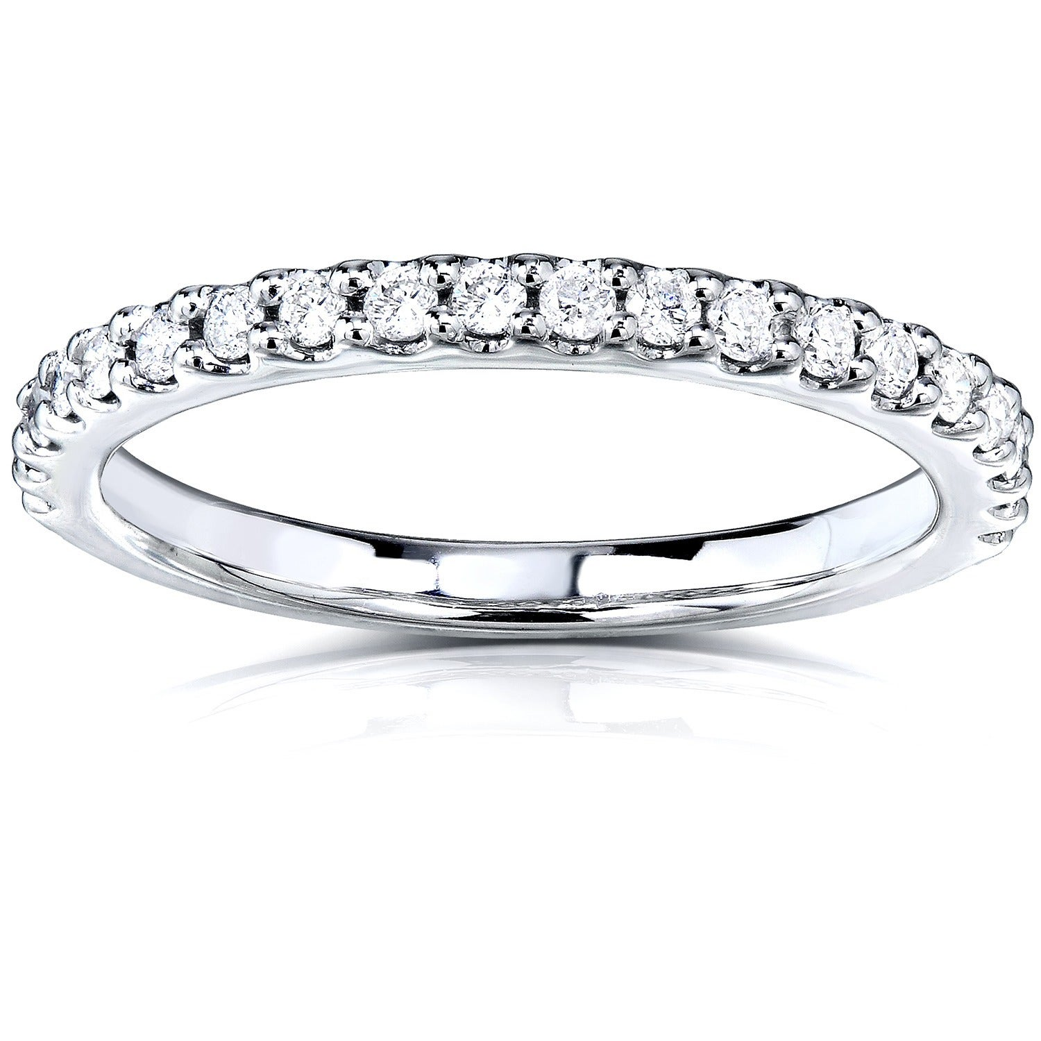 ring diamond collection band wg products tone ef eternity bands
