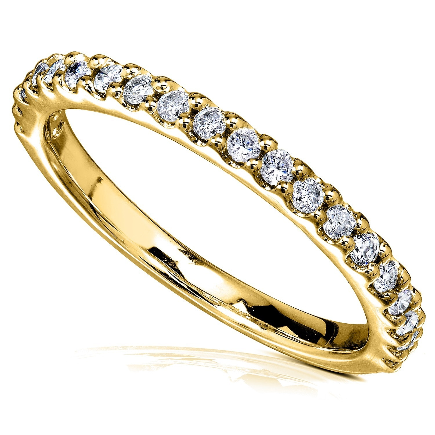 yellow p gold band bands diamond eternity ye