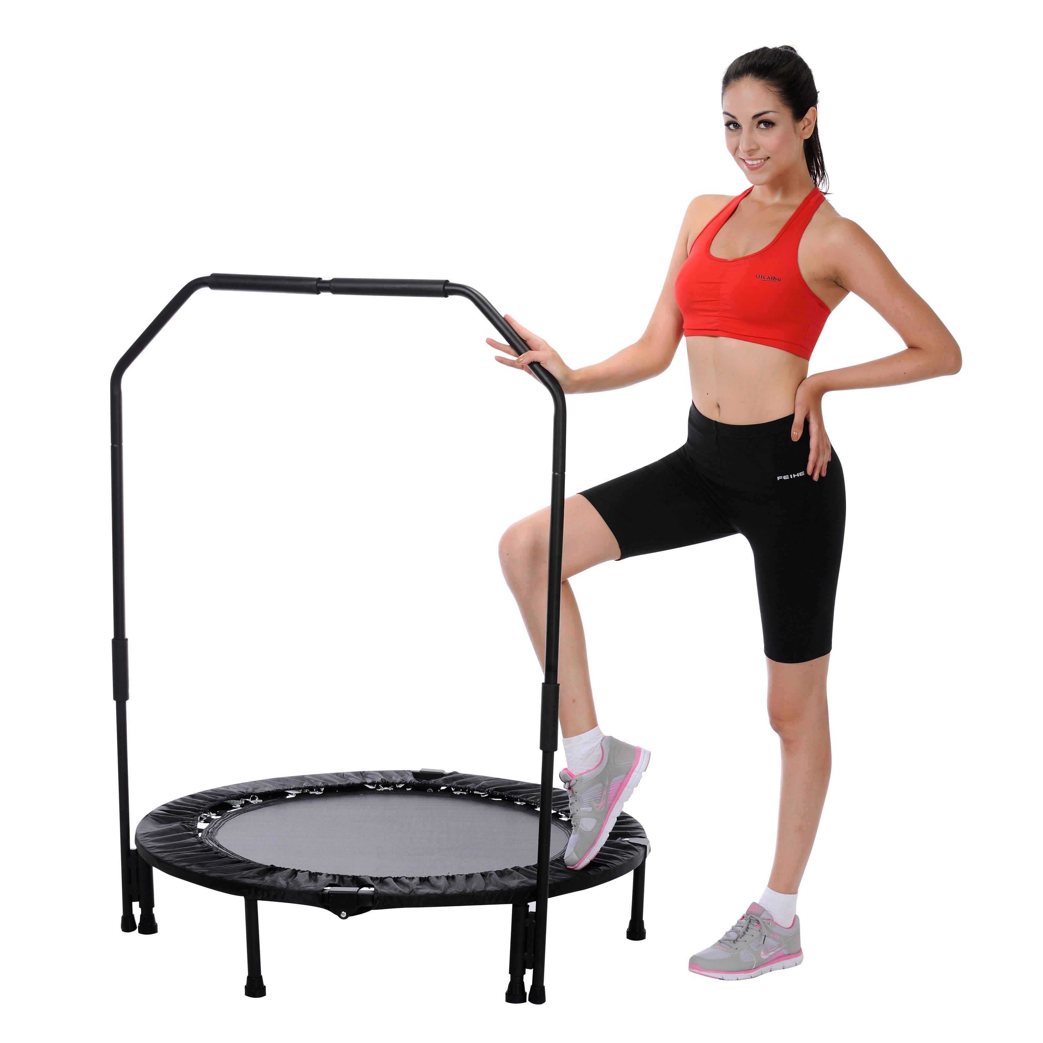 Shop Sunny Health & Fitness No. 023B 40-inch Foldable Trampoline ...