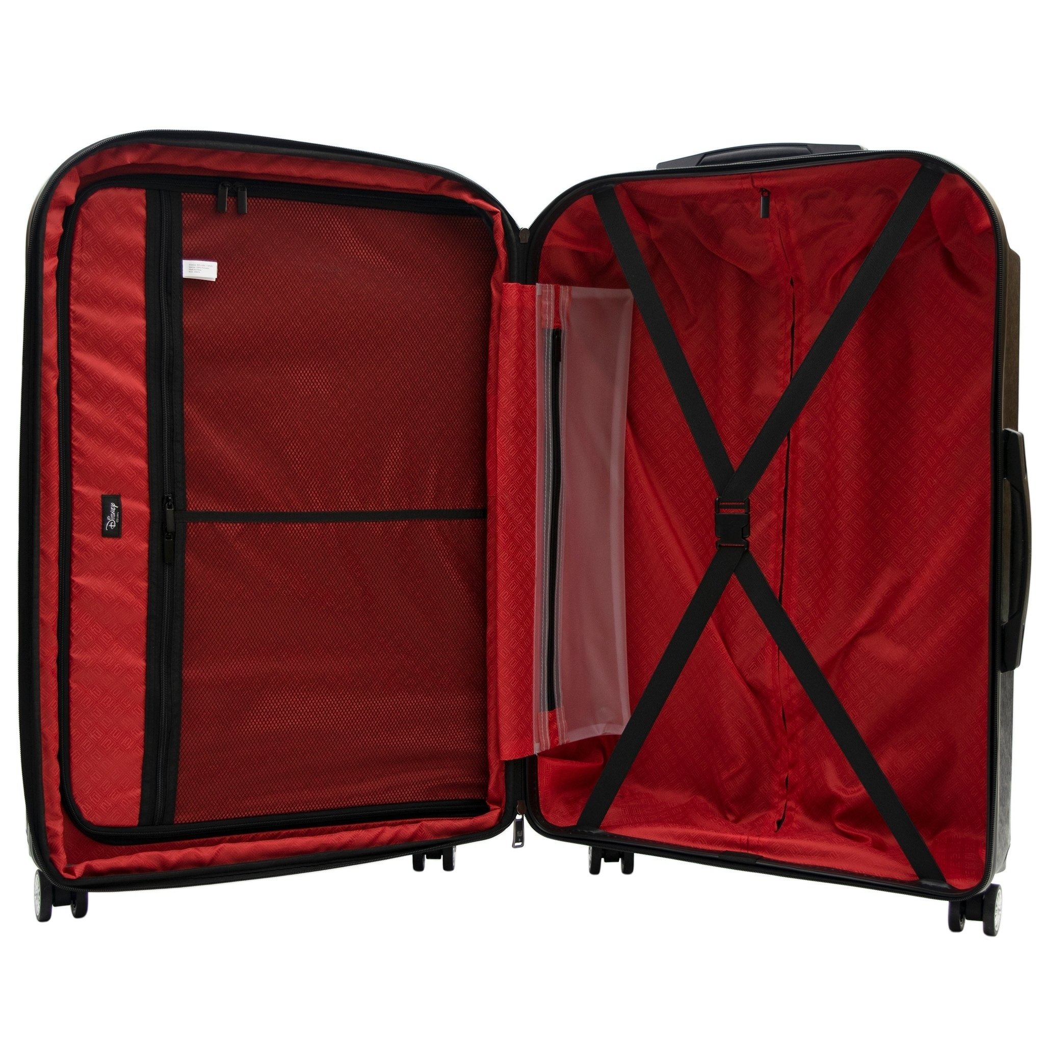 378e0a09f08 Shop Ful Disney Textured Mickey Mouse 3 Piece Luggage Set
