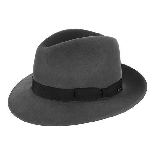 b6175ace5f3 Shop Men s Bailey of Hollywood Winters Fedora 37171BH Steel - Free Shipping  Today - Overstock.com - 21429735