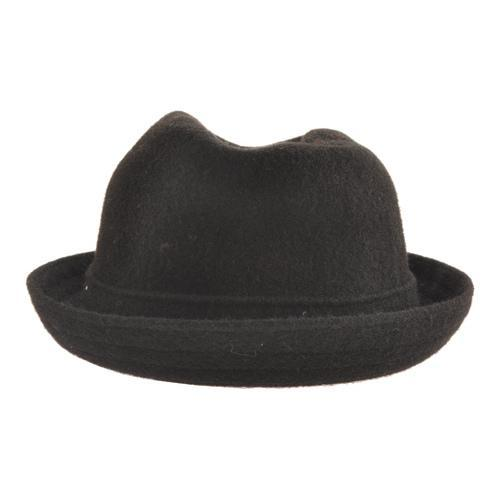 a075308ee80f1 Shop Men s Kangol Wool Player Black - Free Shipping Today - Overstock.com -  21431017