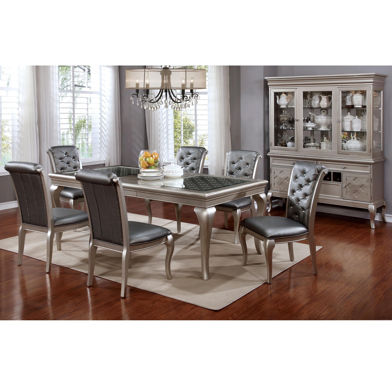 tufted dining room set