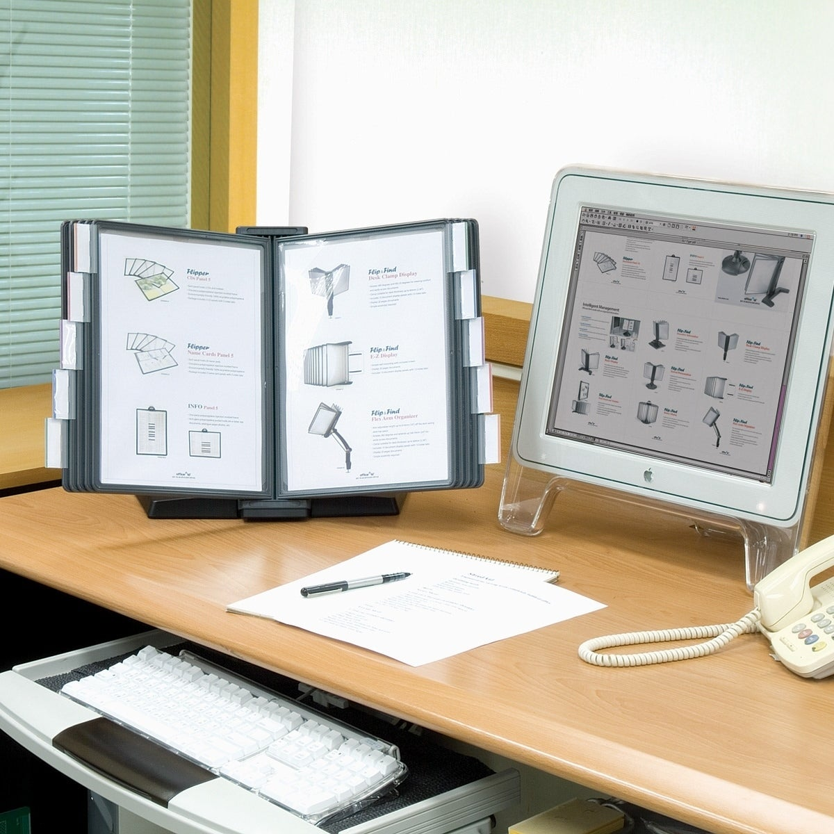 Weighted Desktop Reference Organizer 10 Panel
