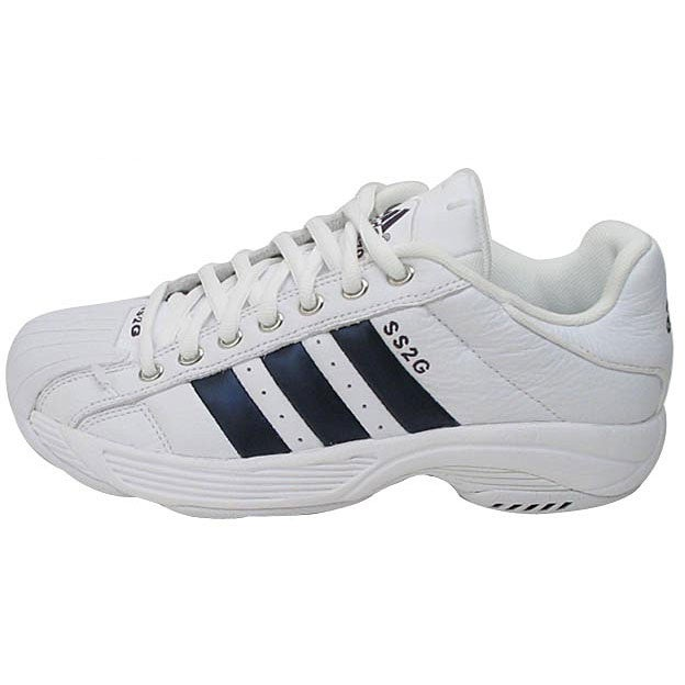 6ab3dfb9ca56 Shop Adidas Superstar 2G Men s Basketball Shoes - Free Shipping On Orders  Over  45 - Overstock - 2538386