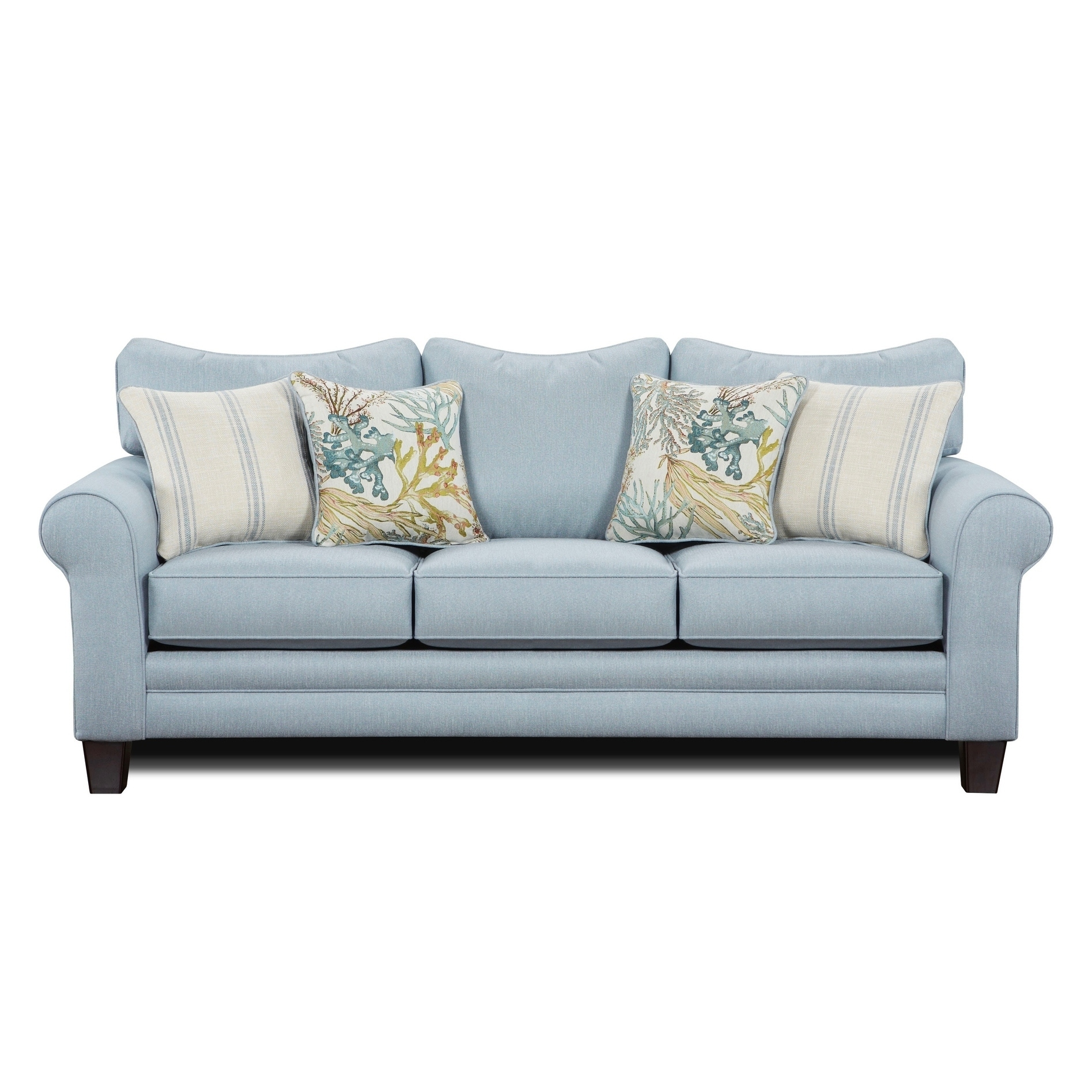 Labyrinth Sky Blue Sleeper Sofa Free Shipping Today 25429574