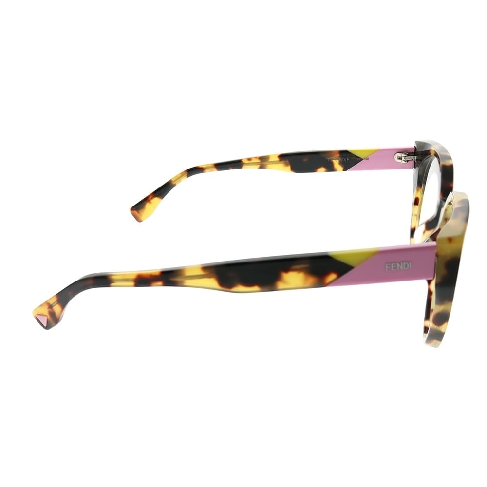 da40819e0369 Shop Fendi Cat-Eye FF 0160 F Fendi Facets 00F Women Havana Frame Eyeglasses  - Free Shipping Today - Overstock.com - 25433082