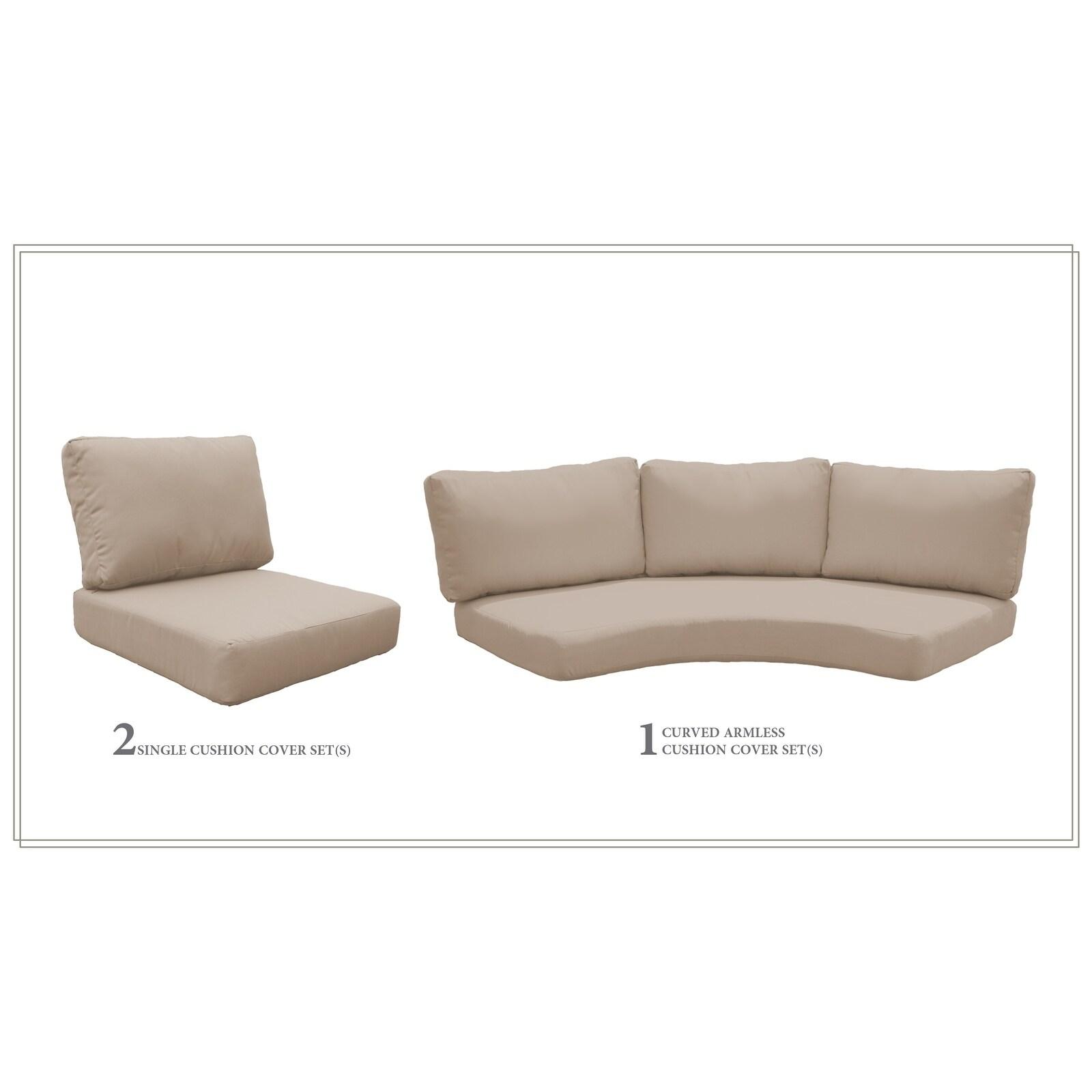 Shop Tk Classics High Back Acrylic Cushion Set For Fairmont 04h