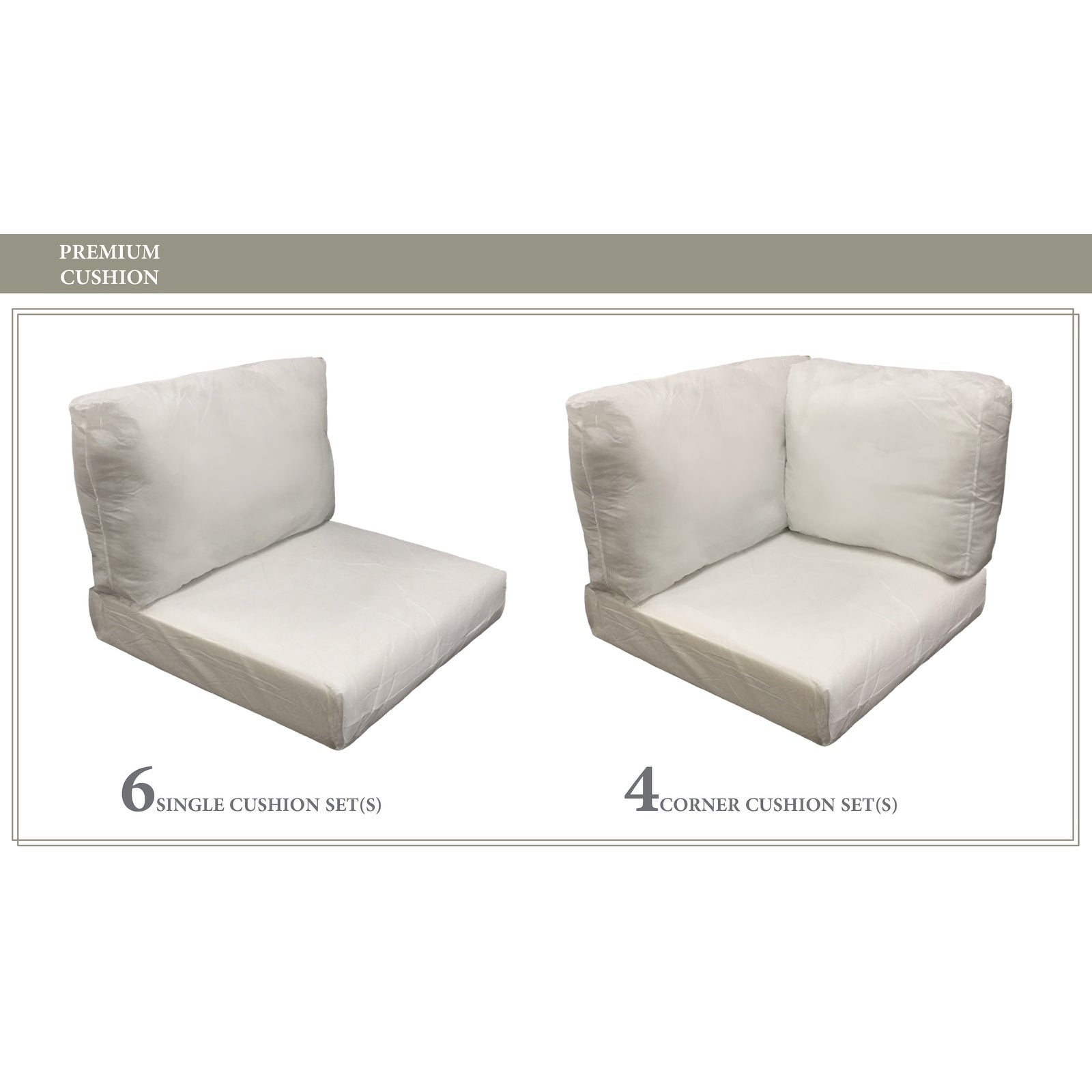 High Back Cushion Set For Florence 11a Free Shipping Today 25438478
