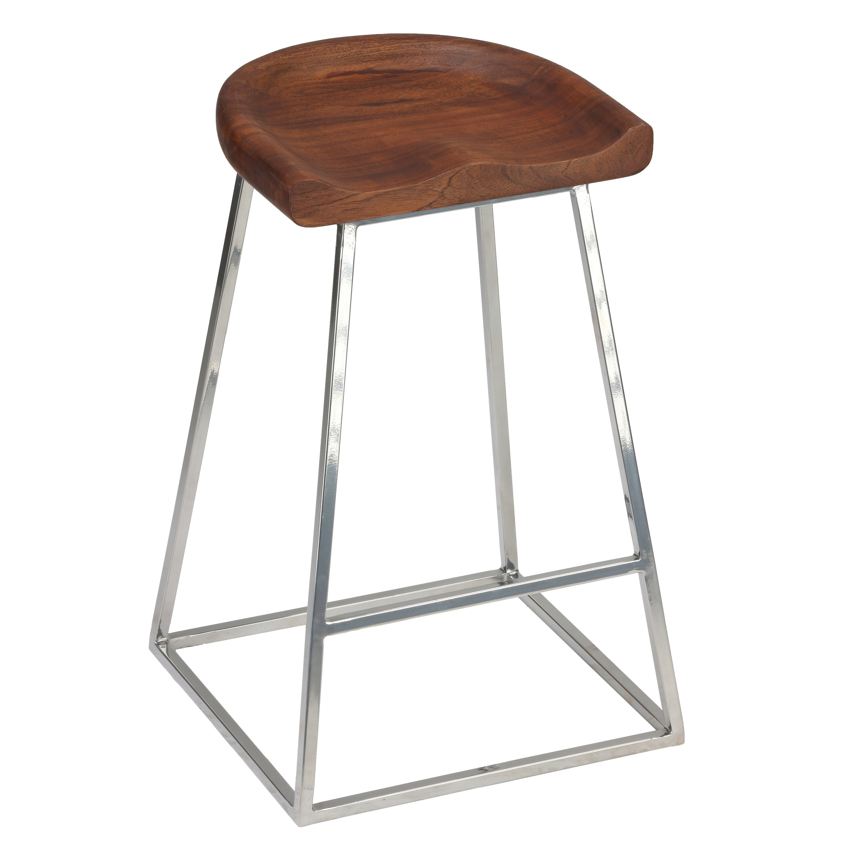 1500f655022 Shop Bare Decor Monarch Saddle Seat Counter Stool (Set of 2)