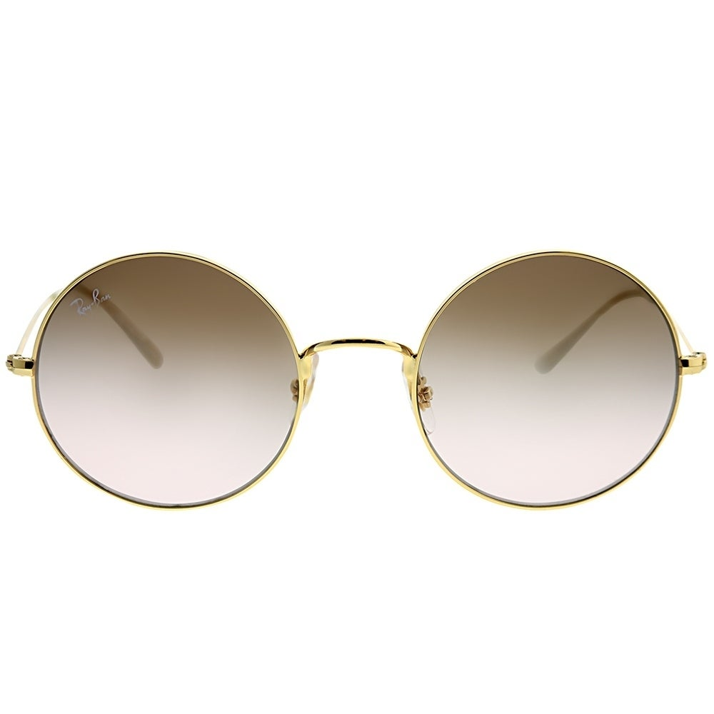 Shop Ray-Ban Round RB 3592 Ja-Jo 001 13 Women Arista Gold Frame Brown  Gradient Lens Sunglasses - Free Shipping Today - Overstock - 25442546 5810da9ca3