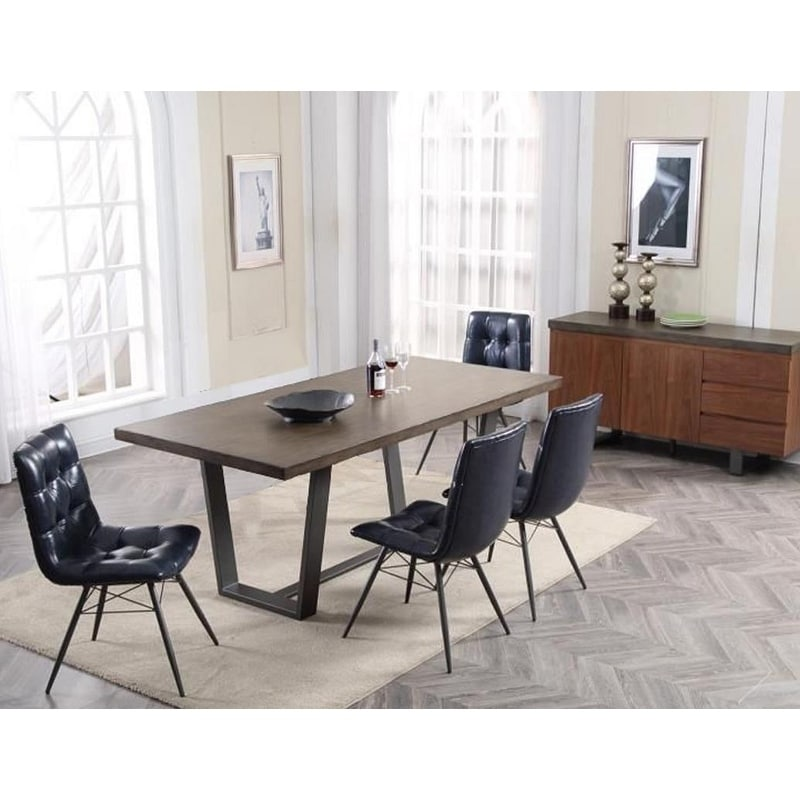 Best Master Furniture Concrete Rectangular Dining Table Free Shipping Today 25444030
