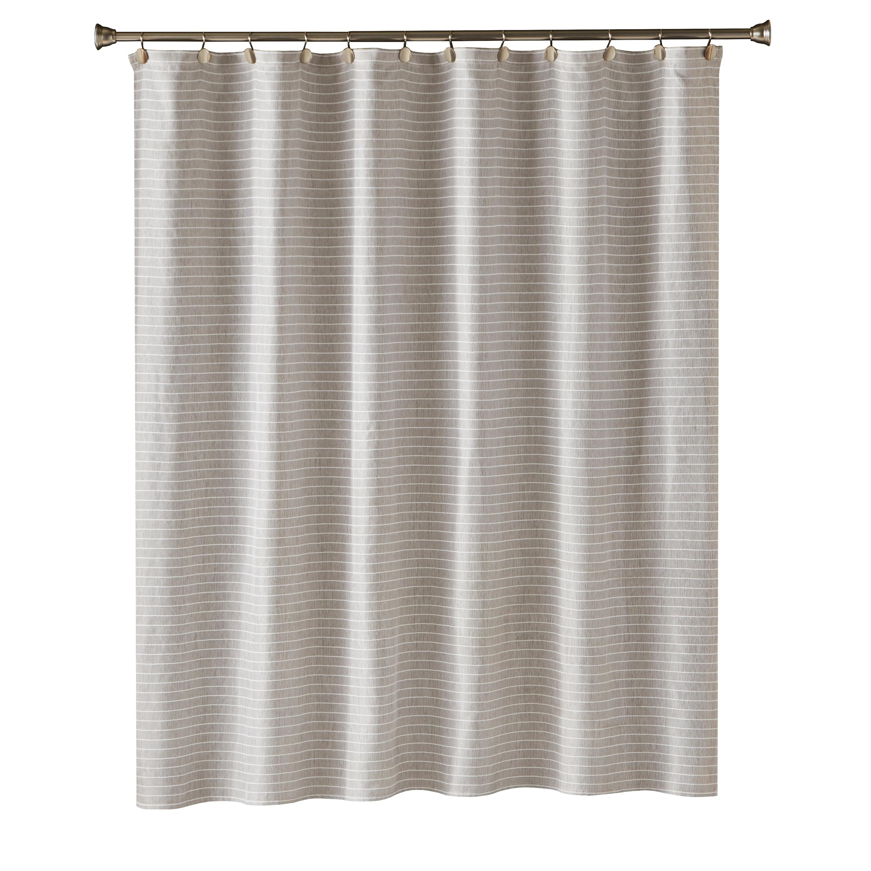 Shop SKL Home Neutral Stripe Shower Curtain
